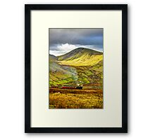 Stunning Snowdon Train Framed Print