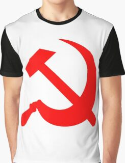 Hammer and Sickle - Communist Symbol  Graphic T-Shirt