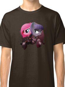 Warrior Pinkie Pie and Maud Pie Classic T-Shirt