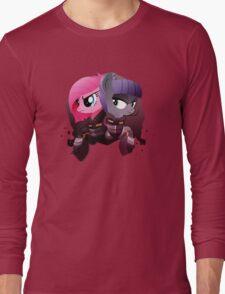 Warrior Pinkie Pie and Maud Pie Long Sleeve T-Shirt