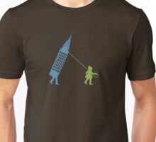 Walking the Empire State Unisex T-Shirt