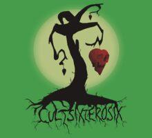 Heart Skull Tree by CultSixZeroSix