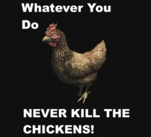Skyrim Don't kill chickens by iibbo1