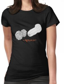 SQUASH ~  Womens Fitted T-Shirt