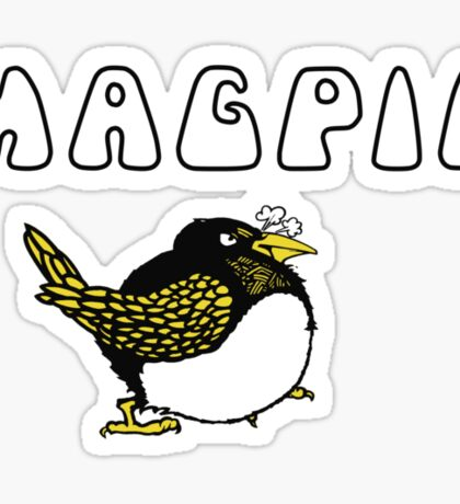 """One for sorrow, two for joy..."" - Magpie! Sticker"