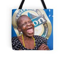 Caribbean lady Soufriere St Lucia Tote Bag