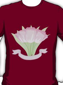 hand drawing tulips T-Shirt