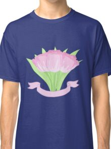 hand drawing tulips Classic T-Shirt