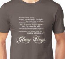 Glory Days - Springsteen Unisex T-Shirt