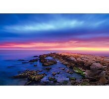 Landscape Sunrise Photographic Print