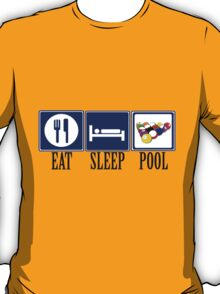 Eat, Sleep, Pool T-Shirt