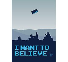 My I want to believe minimal poster- Tradis / Dr Who Photographic Print
