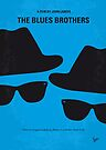 No012 My Blues brothers minimal movie poster by Chungkong