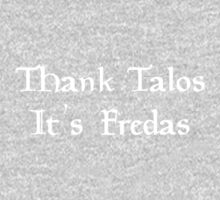 Thank Talos it's Fredas Kids Clothes