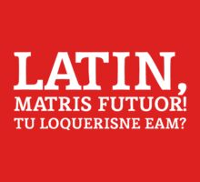 Latin Do You Speak It White T-Shirt
