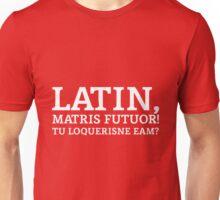 Latin Do You Speak It White Unisex T-Shirt