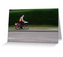 Postie - the sooner the better Greeting Card