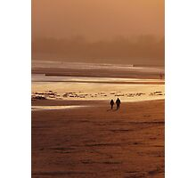 Sunset Couple Photographic Print