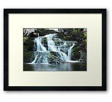 Waterfall in Skye Framed Print