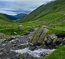 Kirkstone Pass To Brothers Water by Mark Haynes Photography