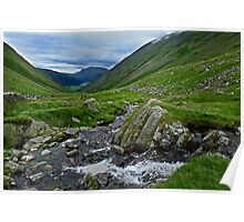 Kirkstone Pass To Brothers Water Poster