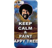 Bob Ross Keep Calm Meme iPhone Case/Skin