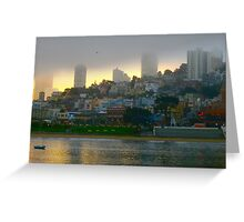 San Francisco Dawn Greeting Card