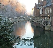 Mathematical Bridge, Cambridge by hpelly31