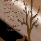 Eleanor Roosevelt quote by Deborah Lazarus
