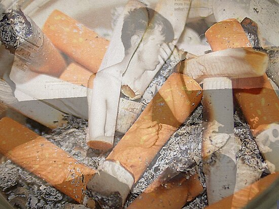 Cigarette chaos. by xenxen