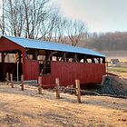 The &quot;New&quot; Moreland Covered Bridge by Gene Walls
