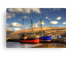 The Vital Spark Canvas Print
