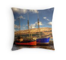 The Vital Spark Throw Pillow