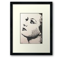 Joan Crawford Framed Print