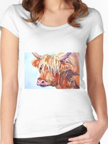 Bad Hair Day Women's Fitted Scoop T-Shirt