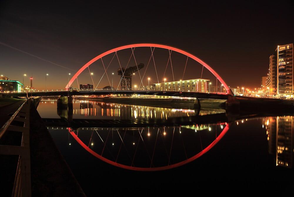 Glasgow Clyde Arc Bridge by Grant Glendinning