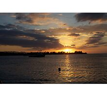 Sunset Jamaica Photographic Print