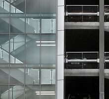 Cars and Stairs by ClaireWroe