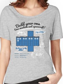Build your own time machine and spacecraft! Women's Relaxed Fit T-Shirt