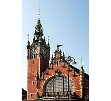 Gdansk train station. Photographic Print
