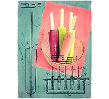 Invention of the Ice Pop Photographic Print