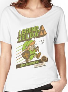 Legend of Zelda - Mario 2 Box Art - Style Women's Relaxed Fit T-Shirt