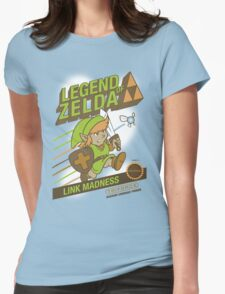 Legend of Zelda - Mario 2 Box Art - Style Womens Fitted T-Shirt