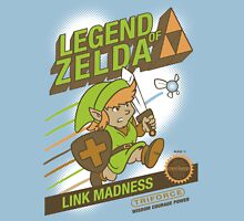Legend of Zelda - Mario 2 Box Art - Style Unisex T-Shirt