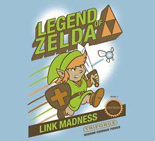 Legend of Zelda - Mario 2 Box Art - Style Unisex T-Shirt