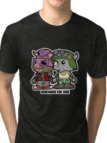 Lil Rocksteady and Bebop Tri-blend T-Shirt