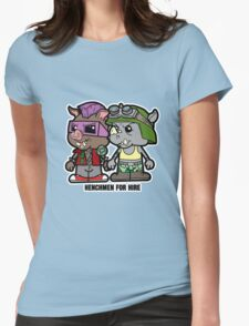 Lil Rocksteady and Bebop Womens Fitted T-Shirt