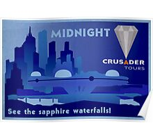 Visit Beautiful Midnight! Poster