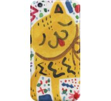 The Cat That Partied Too Hard iPhone Case/Skin