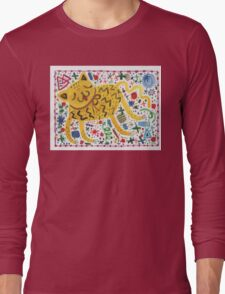 The Cat That Partied Too Hard Long Sleeve T-Shirt